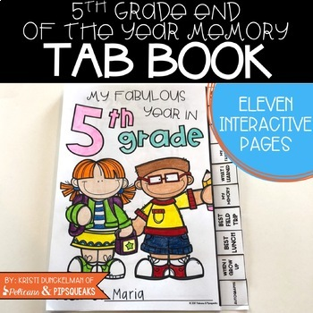 End of Year Memory Book (5th Grade)