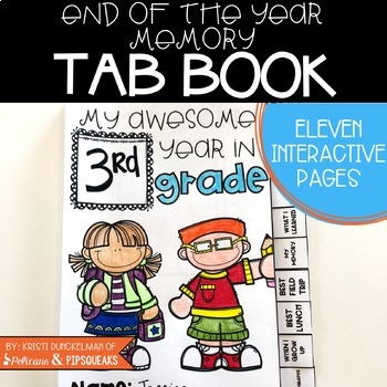 End of Year Memory Book (Any Grade Level)