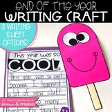 End of the Year Writing Craft