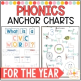 Phonics Anchor Charts for the Year