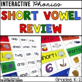 Short Vowel Review: Sorts, Worksheets & Activities