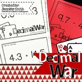 Decimal War - All Operations with Positive Numbers