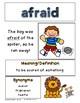 Reading Wonders Companion Grade 2 Vocabulary Posters Unit 1