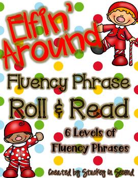 Elfin' Around Fluency Phrase Roll & Read (All 6 Levels!)