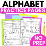Alphabet Practice Pages   Alphabet Worksheets