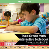 Third Grade Math Measurement Interactive Notebook