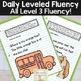 Reading Fluency Passages & Interactive Notebook Strips: Level 3 Bundle