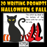 {HALLOWEEN WRITING PROMPTS} {WRITING SCARY STORIES} {ACTIVITIES}