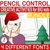 {HANDWRITING FOR OLDER KIDS} {CHRISTMAS handwriting practice}