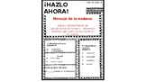 ¡HAZLO AHORA! packet 5 (Daily Warm up for Bilingual Students)