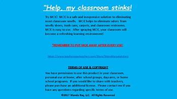 """HELP, MY CLASSROOM STINKS!"""