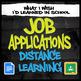 Job Application Bundle - Special Education High School (Print/Google)
