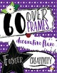 306 ITEMS - Clip Art, Digital Paper, Frames, and Borders Chalkboard Style Set