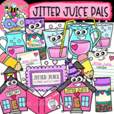HUGE FREEBIE! Jitter Juice Pals: Back-to-School Clipart {DobiBee Designs}