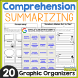 Reading Comprehension: Summarizing - Distance Learning Ready!