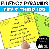 Sight Word Fluency Pyramids Frys Third 100