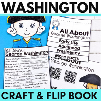 **Half Price for 24 Hours **  George Washington Flip Book