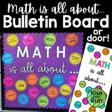 Math Door Decoration or Bulletin Board