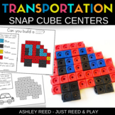 TRANSPORTATION Snap Cube Math Centers