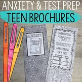 Anxiety and Test Prep Brochures for Teens