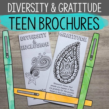 Gratitude and Diversity & Inclusion Brochures for High School