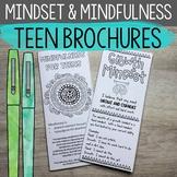 Growth Mindset & Mindfulness Brochures for High School