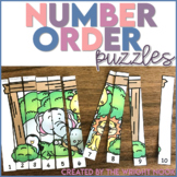 Number Order Puzzle 1 - 10 Distance Learning