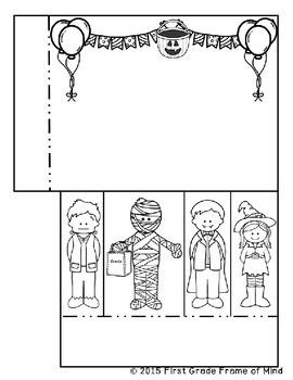 Interactive Notebook INB Math Halloween