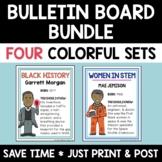 Social Studies Bulletin Board Bundle Hispanic Heritage & 3 More