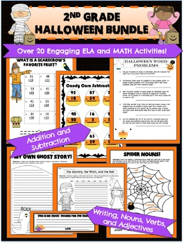 2nd Grade Halloween Activities