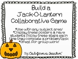 {Halloween} Build a Jack-O-Lantern Review Game