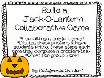 {Halloween} Build a Jack-O-Lantern Review Game