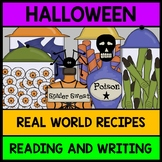 {Halloween} {Recipes} {Special Education} {Life Skills} {Reading} {Writing}