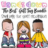"""""""Hands Down"""" Gift Tag 