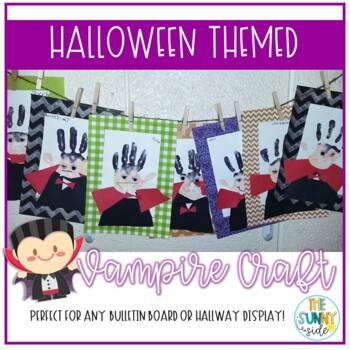 """Handy"" Halloween Dracula Craft"