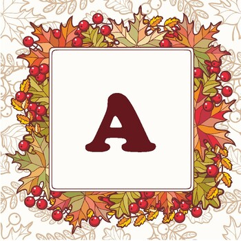 'Happy Autumn' Banner, Fall Leaves, Classroom Decor