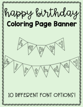 quot Happy Birthday quot Printable DIY