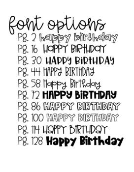 """""""Happy Birthday"""" Printable DIY Coloring Page Banner Classroom Decor"""