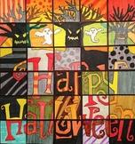 Happy Halloween - Collaborative Art Poster