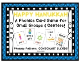 """Happy Hanukkah!"" ~ A Hanukkah (Chanukah)-Themed CONSONANT BLENDS Phonics Game"