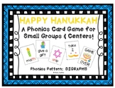 """Happy Hanukkah!"" ~ A Hanukkah (Chanukah)-Themed DIGRAPH Phonics Game"
