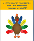 "Thanksgiving-""Build a Thanksgiving plate Activity with saf"