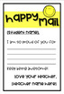 """Happy Mail""™ Positive Communication Notes *EDITABLE*"
