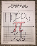 """Happy PI Day"" (Graphing on the Coordinate Plane Mystery Picture)"