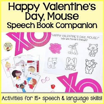 """Happy Valentine's Day, Mouse!"" Speech and Language Mini Book Companion"