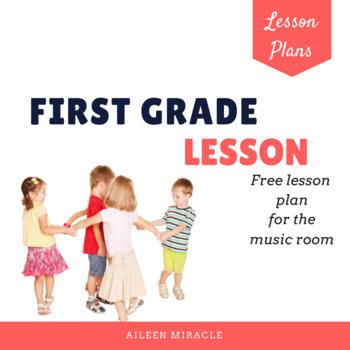 First Grade Music Lesson {Freebie}