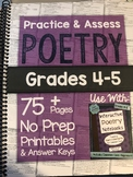 *Hard Copy* Practice & Assess WRITING Grades 4-5