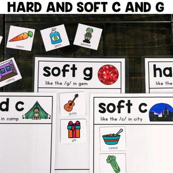 """Hard/Soft C and G Sort"" Center"