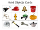 """""""Hard and Soft"""" Sorting Mats and Cards Game"""