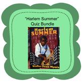 """""""Harlem Summer"""" Quiz Bundle For Distance Learning"""